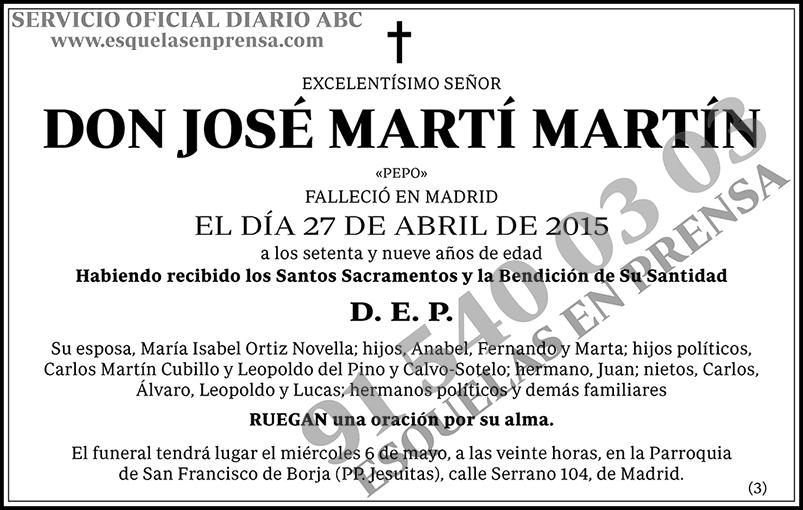 José Martí Martín